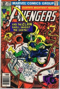 Avengers #205 ORIGINAL Vintage 1981 Marvel Comics Yellow Claw