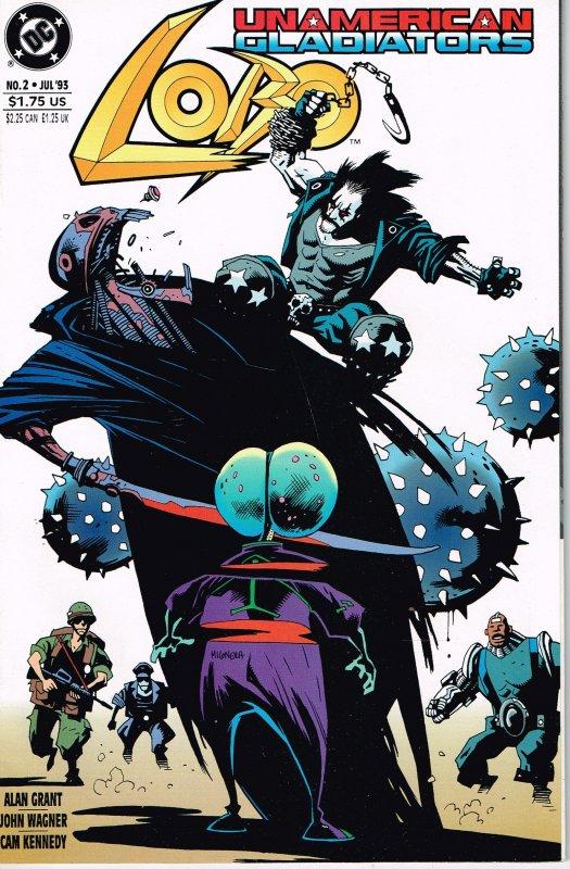 Lobo: Unamerican Gladiators #2 (1993)