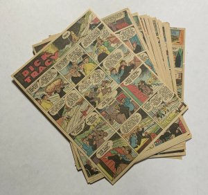 Dick Tracy Newspaper Comics Strip 1936 50 Total Pages Missing June 30th July 19