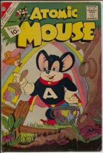 Atomic Mouse #45 1961-Charlton-Atomic Rabbit-Classic cover-VG+