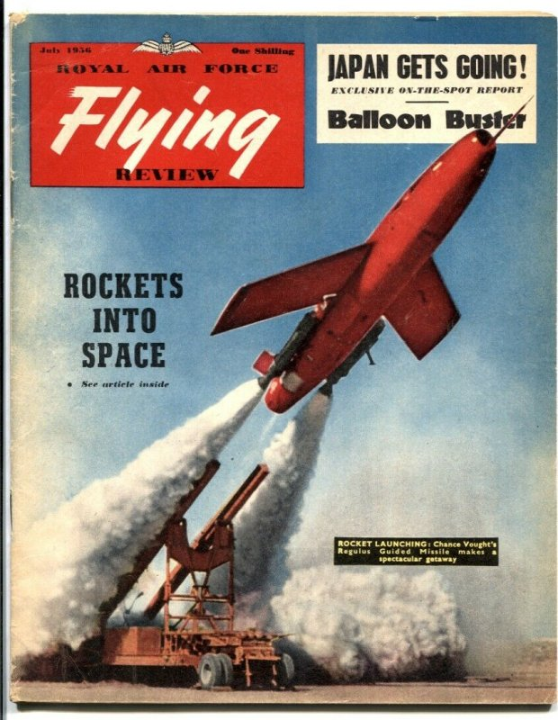 Royal Air Force Flying Review July 1956- rockets