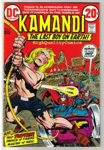 KAMANDI #4, FN+, Jack Kirby, Prince of Tigers, 1972, more JK in store
