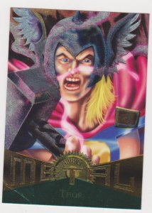 1995 Marvel Metal #13 Thor