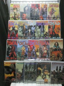 Walking Dead Lot of 39Diff from #103-150 + #1 Reprint (Skybound 2012-16) Zombies