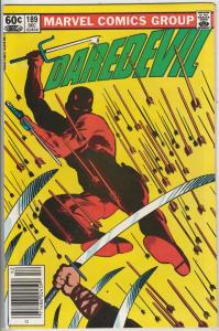 Daredevil #189 (Dec-82) VF/NM High-Grade Daredevil
