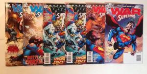 Superman War Of The Supermen 0 1-4 Near Mint Lot Set Run
