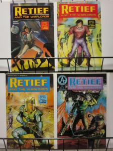 RETIEF & THE WARLORDS (1991 AD) 1-4