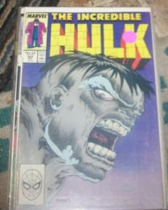 Incredible Hulk  # 354 Feb 1989 Marvel joe fixit grey hulk vegas mobster