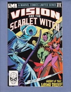 Vision and the Scarlet Witch #1 VF/NM Marvel 1982
