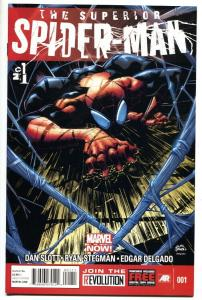 Superior Spider-Man #1 2013 First issue comic book VF/NM
