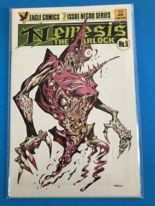 NEMESIS THE WARLOCK  #5 OF 7 1984/85 EAGLE COMICS / UNREAD / NM / NM+