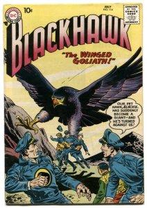 Blackhawk #114 1957- 1st Interplanetary War FN+