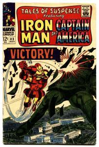 TALES OF SUSPENSE #83 1966-IRON MAN/CAPTAIN AMERICA-MARVEL-VG