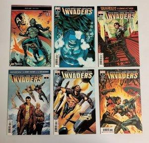 Invaders #1-12 Set (Marvel 2018) 1 2 3 4 5 6 7 8 9 10 11 12 Chip Zdarsky (9.0+)