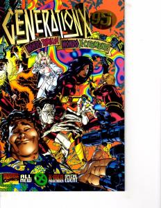 Lot Of 2 Comic Books Marvel Generation X #19 and Generation 95 #1  ON10