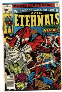 THE ETERNALS #14 First appearance of COSMIC POWERED HULK