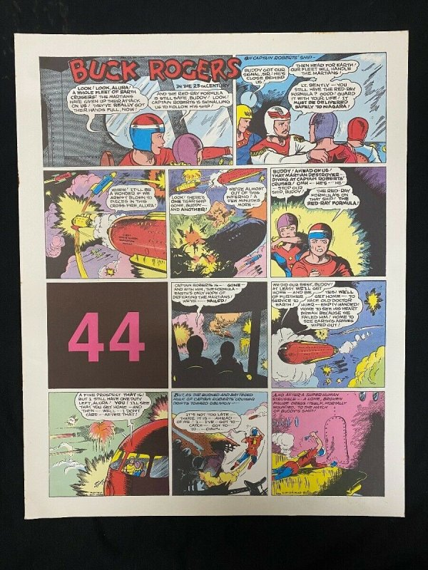 Buck Rogers #44- Sunday pages #517-528 - large color reprints