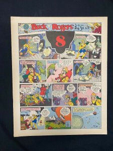 Bucker Rogers #8 - Sunday pages No. 85-96- large color reprint