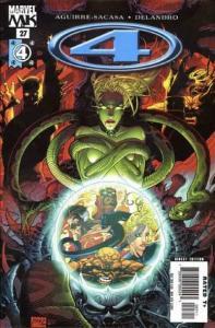 Marvel Knights 4 #27, NM- (Stock photo)
