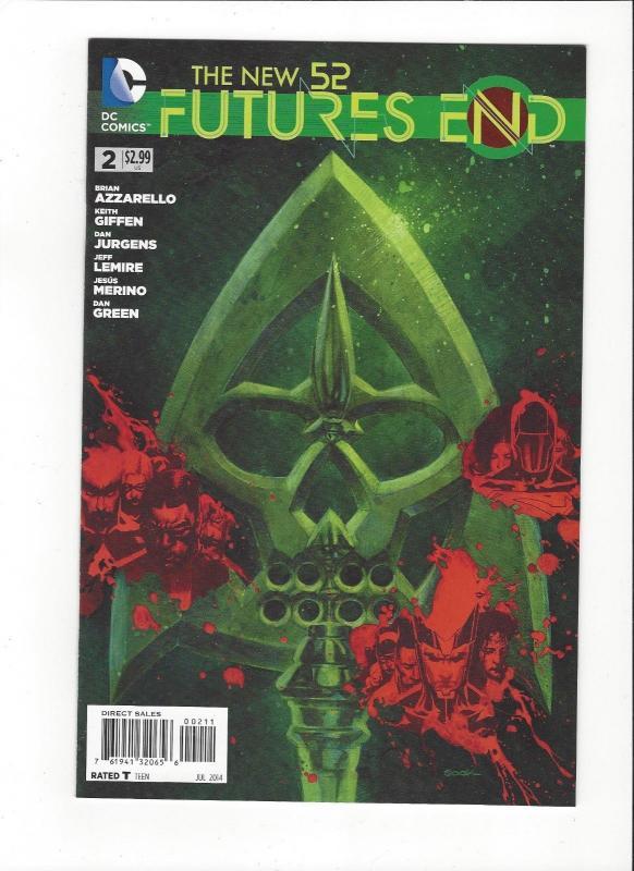 Futures End  #2 DC Comics Jistice League New 52 Mint