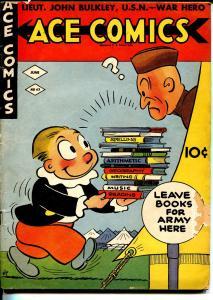 Ace #63 1942-David McKay-Phantom-Blondie-WWII era-G-