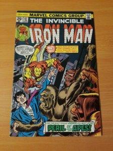 The Invincible Iron Man #82 ~ FINE - VERY FINE VF ~ (1976, Marvel Comics)