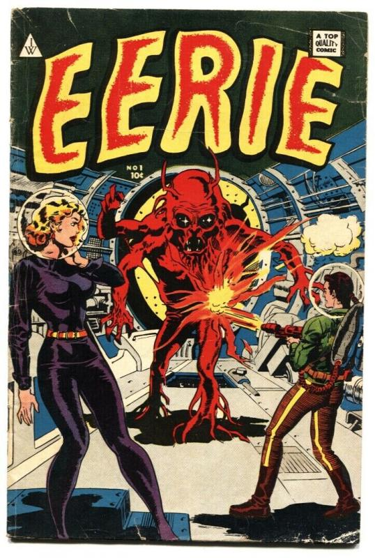 Eerie #1 1964 Wally Wood - Spook #1 - Avon Reprint Horror