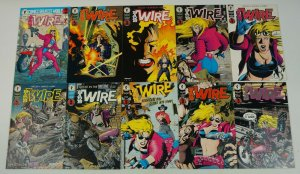 Barb Wire #1-9 VF/NM complete series + one-shot 1st appearance - bad girl comics
