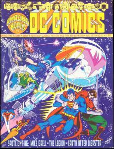 AMAZING WORLD OF D.C. COMICS #12-1976-THE LEGION VF