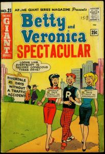 Betty and Veronica Spectacular- Archie Giant #21 1963- FAIR