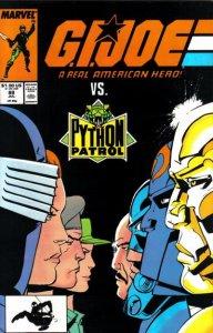 G.I. JOE #88 Marvel Comics (ungraded) stock photo / ID#B-4