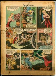 Wings #31 1943-Fiction House-Skull Squad-Suicide Smith-Jane Martin-P