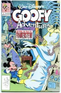 GOOFY ADVENTURES #2, NM+, Walt, 1st Disney, 1990, Mickey Mouse, more in store