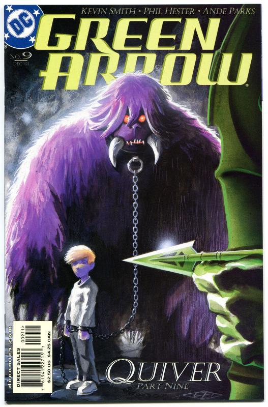 Green Arrow 9 Nm Kevin Smith Batman Monster 2001 More Ga In