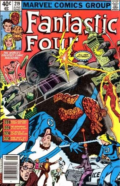 Fantastic Four (1961 series) #219, VF+ (Stock photo)