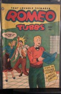 Romeo Tubbs #28 (1950)