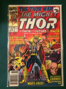 The Mighty Thor #438 The Thor War part 1 of 4