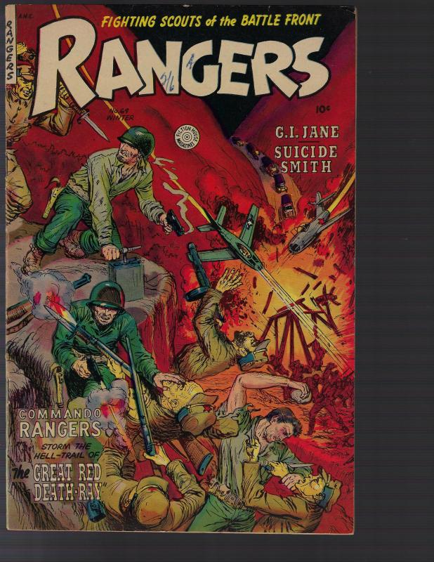 Rangers Comics #69 (Fiction House, 1953)