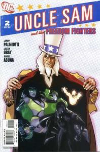 Uncle Sam and the Freedom Fighters (2006 series) #2, NM + (Stock photo)