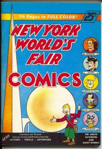 Flashback #12 1974-Reprints New York World's Fair Conics from 1939-NM