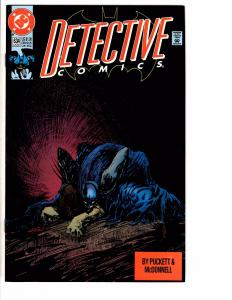 6 Detective Comics Feat. Batman DC Comic Books # 634 635 636 637 638 639 AB6