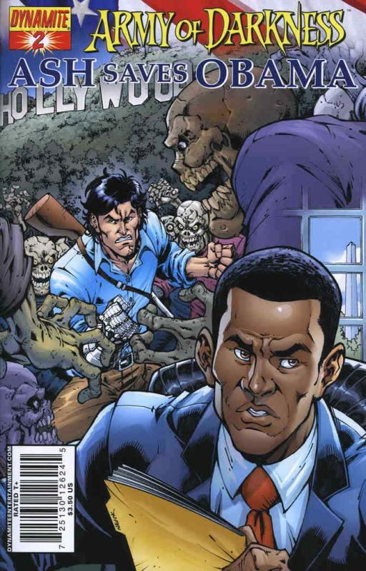 Army of Darkness: Ash Saves Obama #2A VF/NM; Dynamite | save on shipping - detai