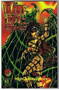 VAMPIRE VERSES #1, NM+, Signed COA, Limited, Variant, 1996, more in store