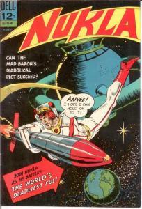 NUKLA 2 F-VF March 1966 COMICS BOOK