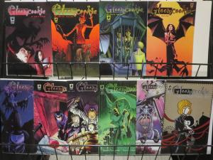 GLOOM COOKIE Lot of 10 comics book issues issues 1999-2003 Slave Labor VF/+