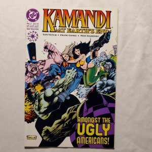 Kamandi at Earth's End 2 Very Fine+ Cover by Frank Gomez