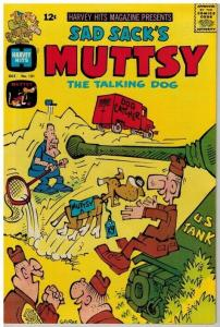 HARVEY HITS (1957-1967) 121 VG-F  Oct. 1967 Muttsy