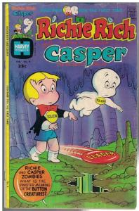RICHIE RICH & CASPER (1974-1982) 4 VG Feb. 1975