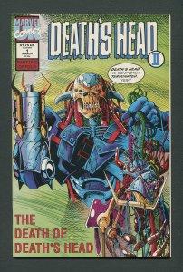 Death's Head II  #1  / 9.4 NM  March 1992