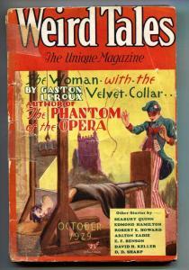 Weird Tales 10/1929-Hugh Rankin-Robert E Howard-Pulp Magazine